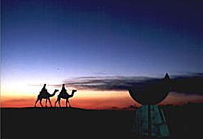 御宿月の沙漠記念像