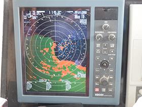 12km追跡搭載カラーレーダー