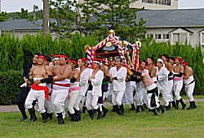 岩和田秋祭り