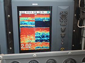 デジタル魚群探知機